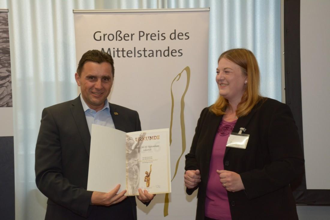 Großer Preis des Mittelstandes Verleihung 2016